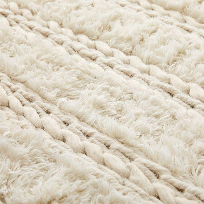 Braid Stripe Sweater Rug In 2020 Stripe Sweater Striped Rug Jute Wool Rug