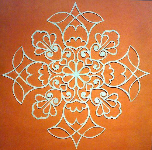 papercut- would make a good henna design