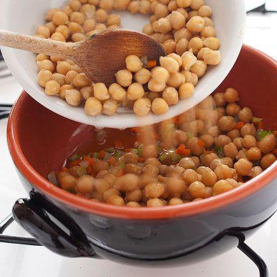 Zuppa di ceci piemontese - Scuola di cucina - Donna Moderna