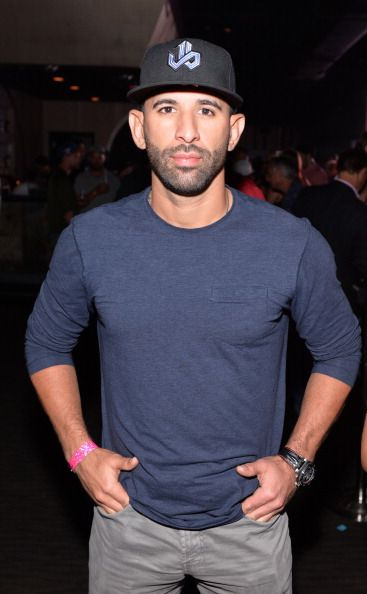 Jose Bautista of Toronto Blue Jays attends MLB.com All-Star Bash sponsored by Firestone, Captain Morgan White Rum and Buffalo Wild Wings at Epic on July 13, 2014 in Minneapolis, Minnesota
