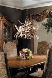 Cascade Antler Chandelier Whitetail 19 Horns Rustic Lighting USA Made