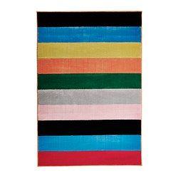 IKEA - RANDERUP, Tappeto, pelo corto, Il tappeto è durevole, resistente alle macchie e di facile manutenzione poiché è in fibre sintetiche.È facile da pulire con l'aspirapolvere, grazie alla sua superficie piana.Il pelo spesso attutisce i suoni e offre una superficie morbida su cui camminare.