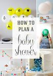 Planning a baby shower can be a bit overwhelming, especially if you've never had a baby yourself or attended very many showers. You can find all sorts of information about etiquette online (who to invite,...