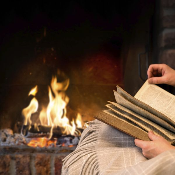 Do you like to #read by the #fireplace?  #jetmaster