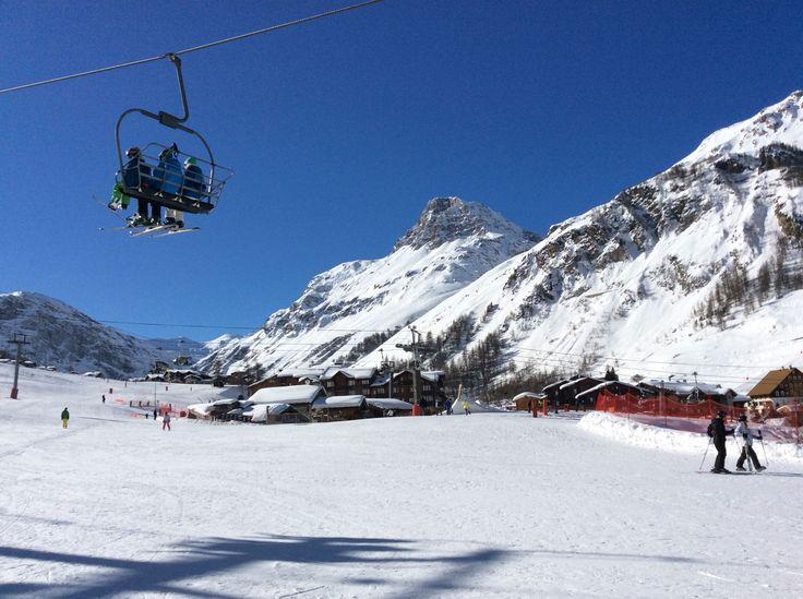 Vue sur Val d'Isère