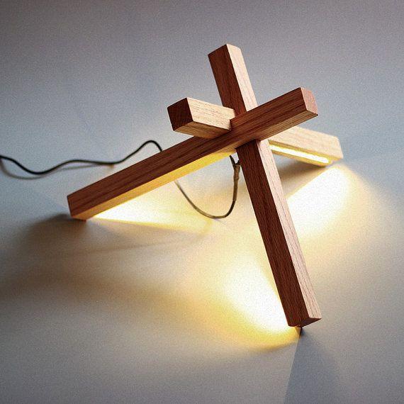 Bois de LED lampe de bureau  éclairage LED  bois  par industlamp