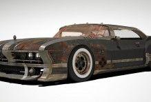 Post-Apocalyptic Car, Post-apocalyptic Car, car, просмотров 870