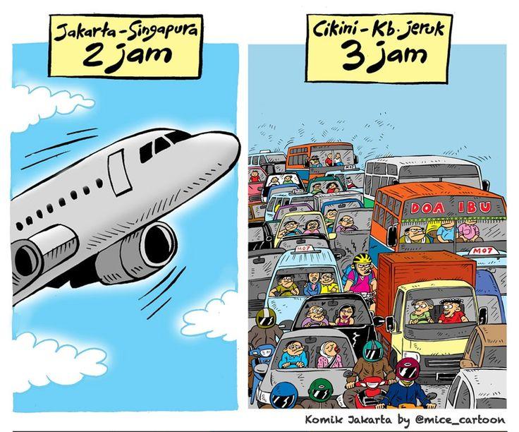 Mice Cartoon, Komik Jakarta: Cikini – Kebon Jeruk 3 Jam