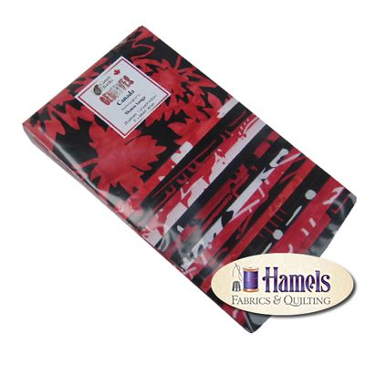 Gemfives - Canada by Shania Sunga for Cantik Batiks