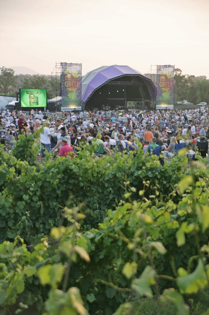 A Day On the Green concert at Rochford Wines