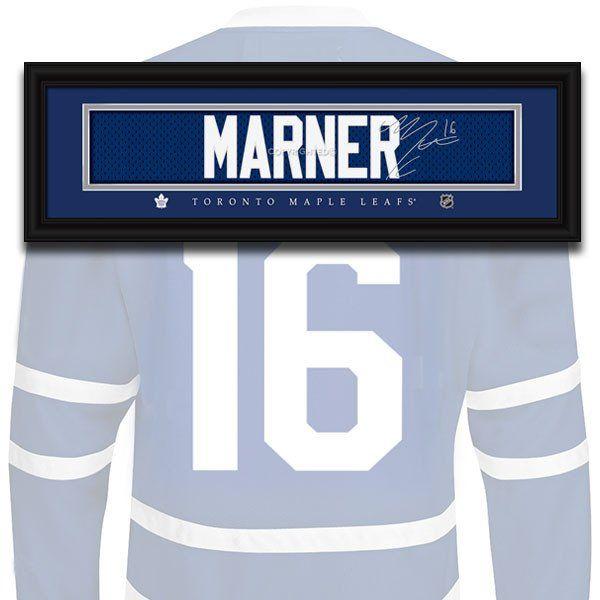 Toronto Maple Leafs - Mitch Marner - NHL Jersey Name Print