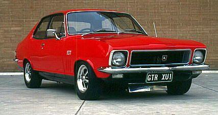 Holden LJ Torana GTR XU1