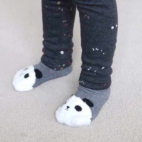 Continuing on the theme of cosy... check out these adorable socks 🐼