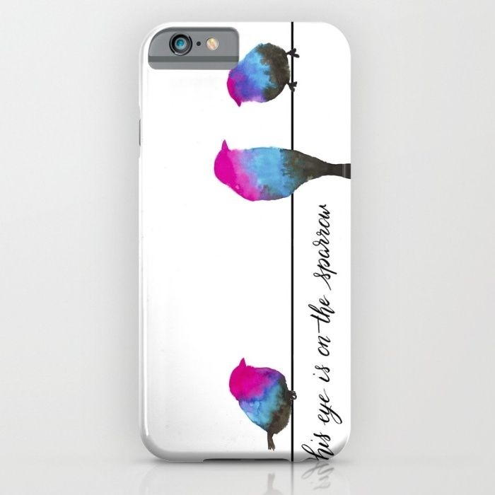 Sparrow iPhone & iPod Case by The Willow Wood Studio   Society6