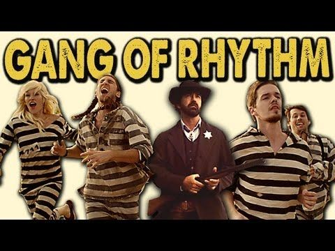 """Walk Off the Earth - """"Gang of Rhythm"""" music video. I love this band!"""