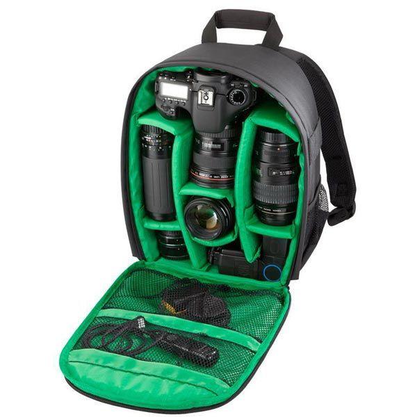 Tigernu Polyester DSLR Camera Backpack For Camera D3200 D3100 D5200 D7100