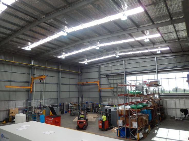 Industrial manufacturing buildings
