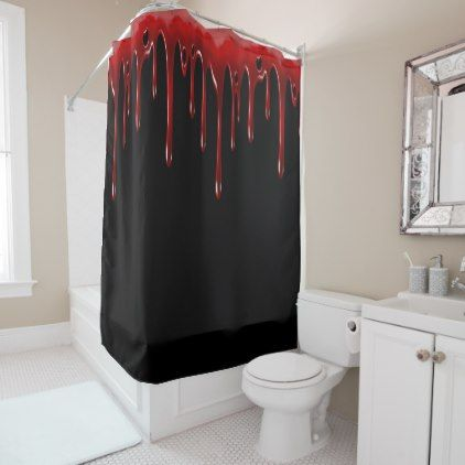 red and black shower curtain set. Falln Blood Drips Black Shower Curtain Best 25  shower curtains ideas on Pinterest bathroom