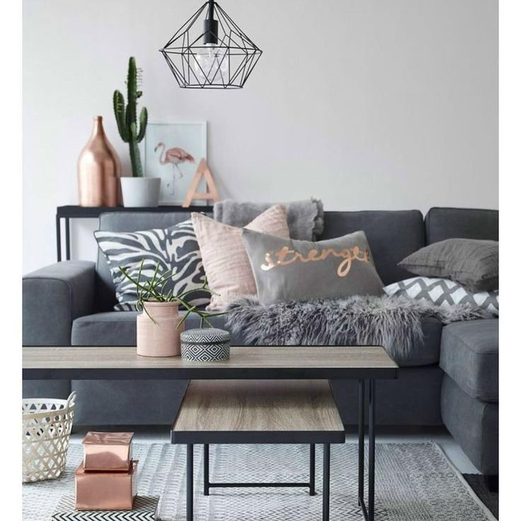 Loving the color scheme gray and bronze so pretty! #homedecor #ideas #decor #housedecorations