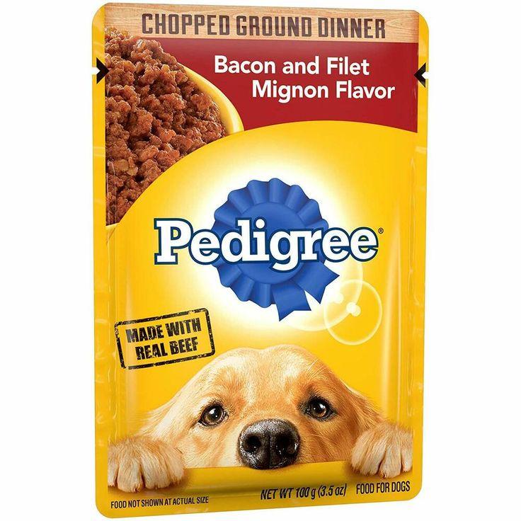 Free shippingpedigree chopped ground dinner adult wet dog