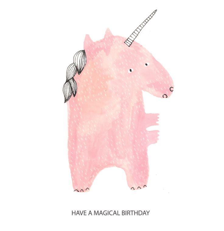 Unicorn Illustration by Sharon Magowan