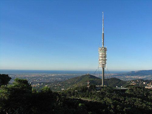 mirador torre de collserola