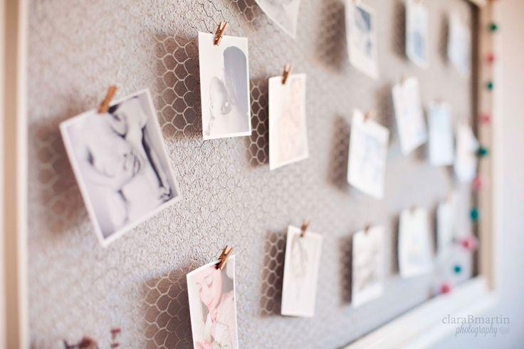 DIY: Marco de fotos con malla de gallinero - claraBmartin