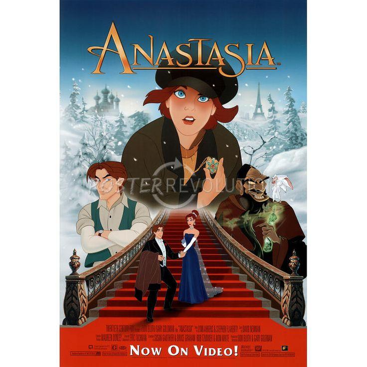 Anastasia movie group original poster 1997 with