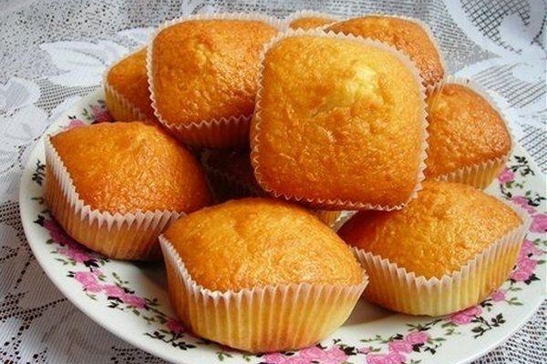 Простые кексы по-домашнему