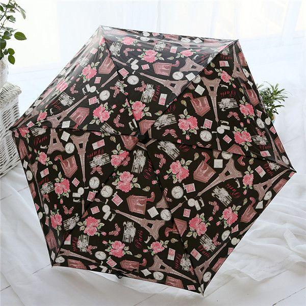 High Quality Sun, Rain and Flower Parasol Umbrella