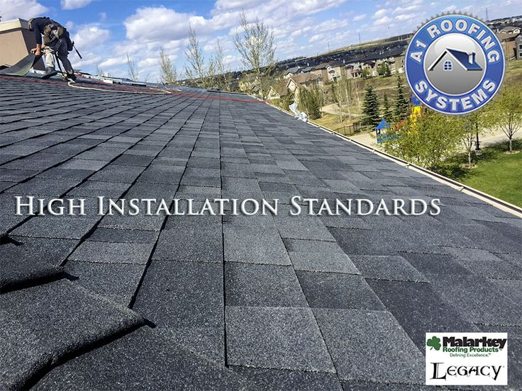 Roofing Contractor Calgary - roof replacement - malarkey legacy shingle