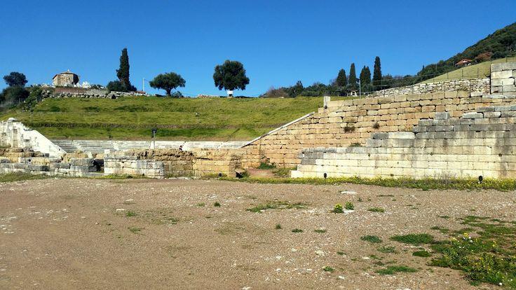 Ancient Messene - Stadium #ancientmessne #peloponnese #ancent #messene #greece #history #culture