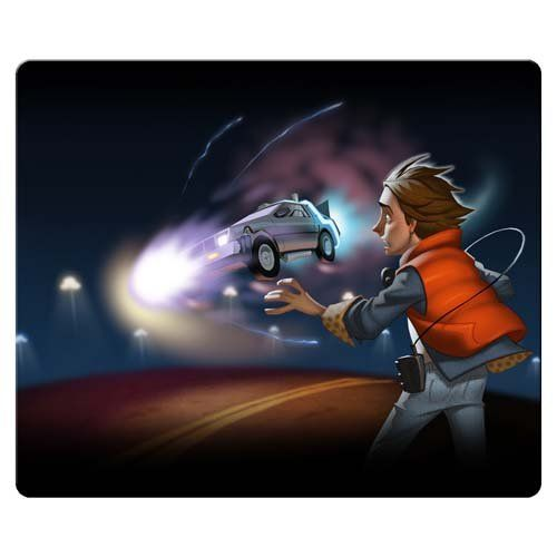30x25cm 12x10inch personal Mouse Mats accurate cloth & antiskid rubber High Quality smooth Back to t @ niftywarehouse.com #NiftyWarehouse #BackToTheFuture #Movie #Film #Movies #Gifts