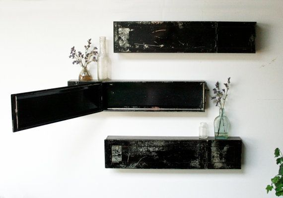 Safety Deposit Box Shelves by HandyDandyProduction on Etsy, $25.00