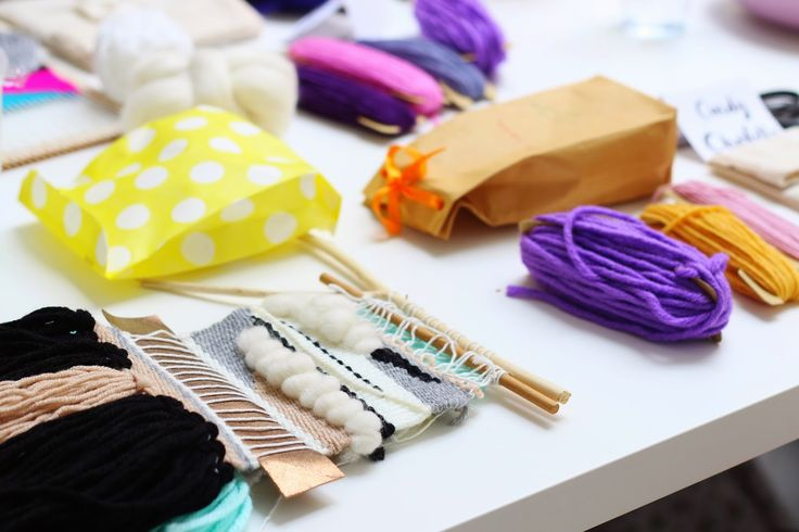 Mommy's weaving session with Living Loving - www.lifeatarcilland.com
