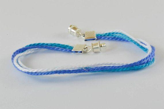 $8 ombre blue Bracelet