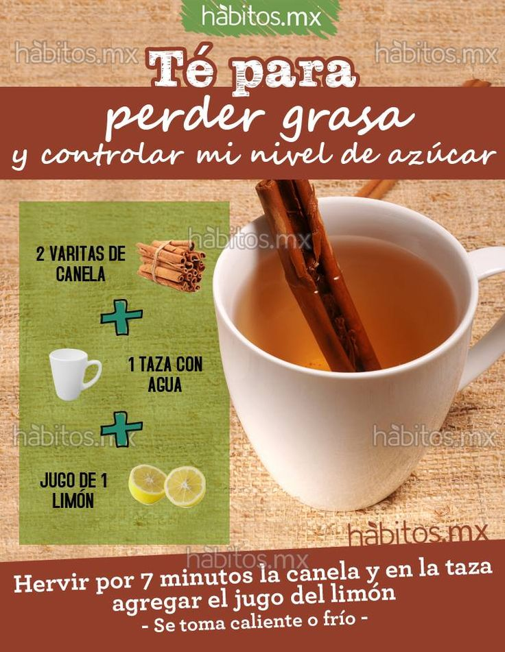 Hábitos Health Coaching | TÉ PARA PERDER GRASA