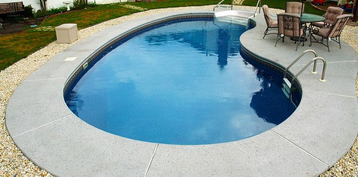 Best 25 kidney shaped pool ideas on pinterest swimming - Kidney shaped above ground swimming pools ...