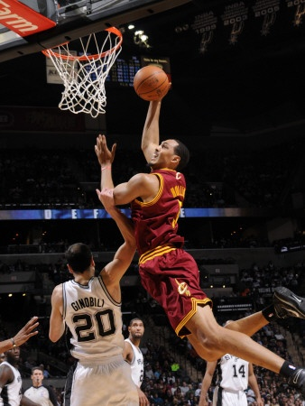 Ryan Hollins Cleveland Cavaliers NBA Basketball
