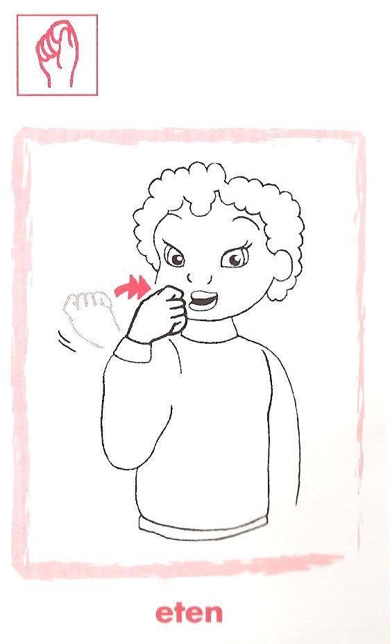 Eten, gebarentaal