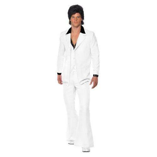 Disfraz de Tony Manero (Travolta en Fiebre del Sábado Noche) http://www.milideaspararegalar.es/producto/disfraz-tony-manero/