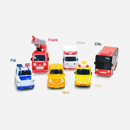 #Tayo #TheLittleBus Friends #Citu #Nuri #Toto #Frank #Pat #Alice 6pcs Set Car #Toy