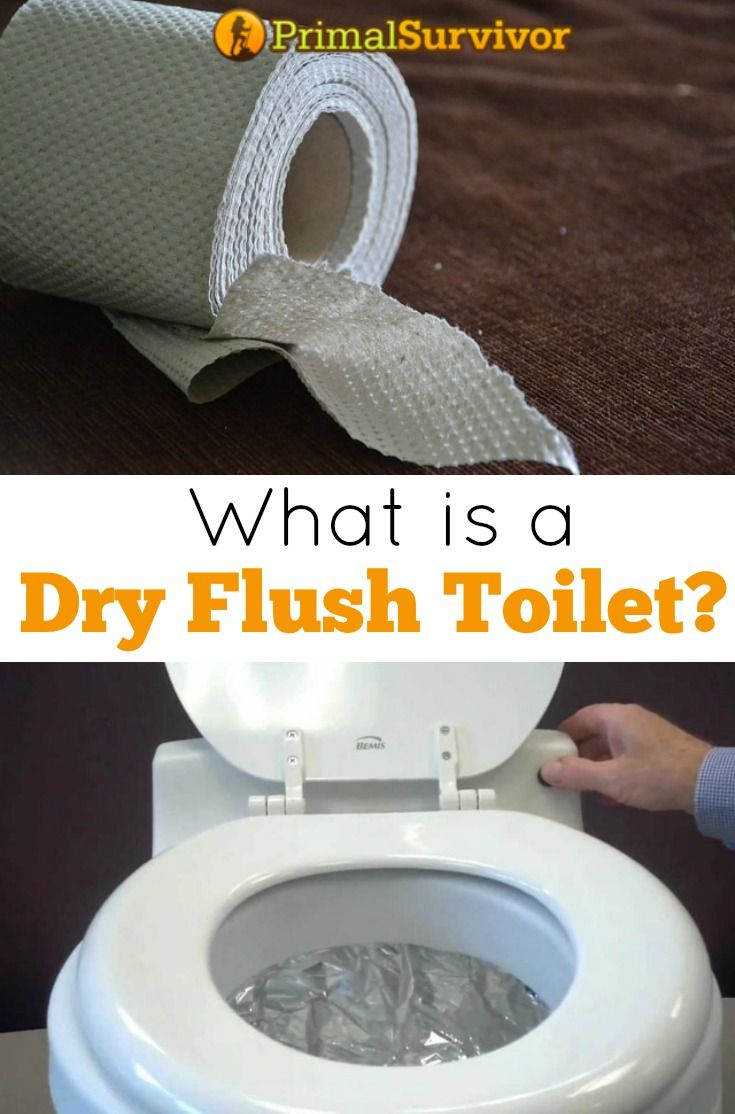 What Is a Dry Flush Toilet? Whether you are prepping for a disaster or want to get off the grid and become more self-reliant, a toilet is one of the most important considerations.  Yes, toilets.  I know that toilets aren't exactly the most thrilling topic, but this something that all of us need on a daily basis.  So, it is really important that you know what your options are.  One of the newest technologies available is called a Dry Flush toilet.