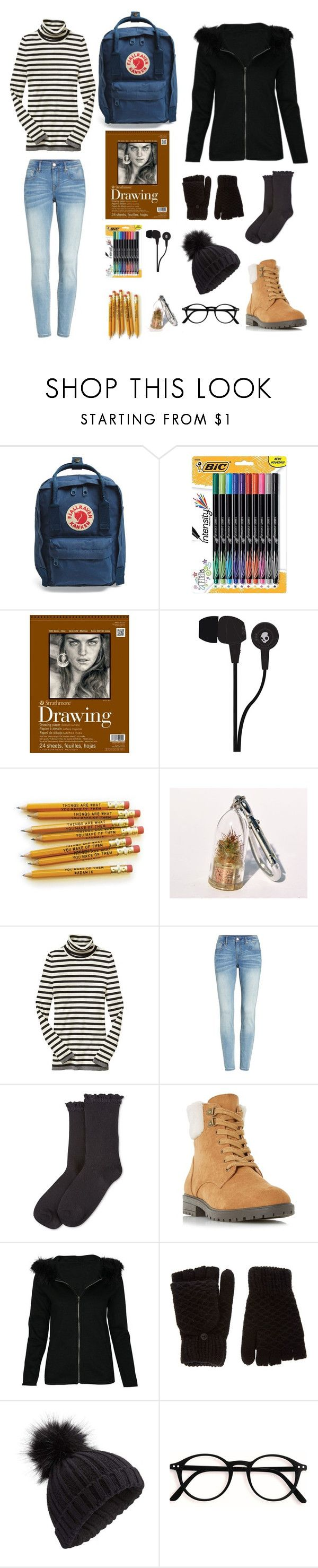 """""""We Have Nothing to Lose and a World to See"""" by riley-specht ❤ liked on Polyvore featuring Fjällräven, CO, Skullcandy, Gap, Vigoss, HUE, Head Over Heels, Miss Selfridge, women and polyvorefashion"""