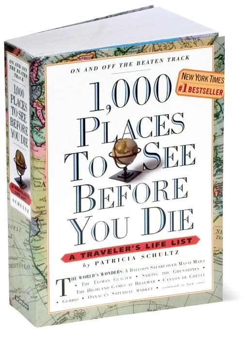 1000 places.... I need to get my travel on.: Gift