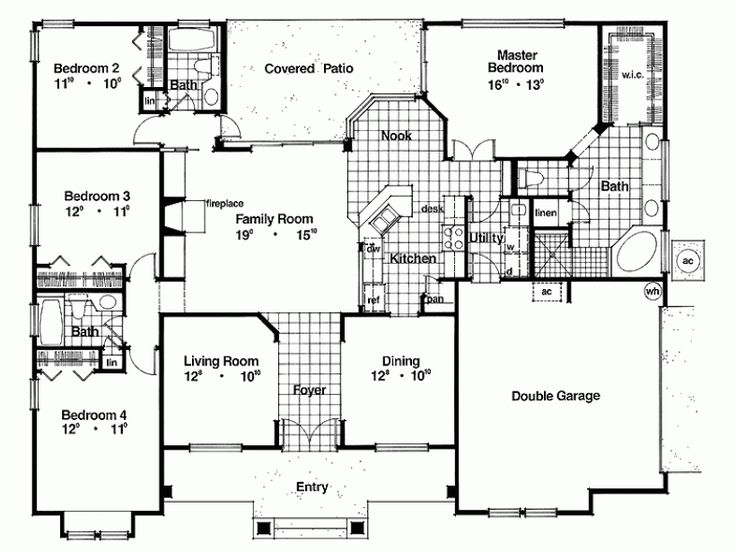 35 best fav 2200 2500 sq foot house plans images on for 2200 square foot house plans