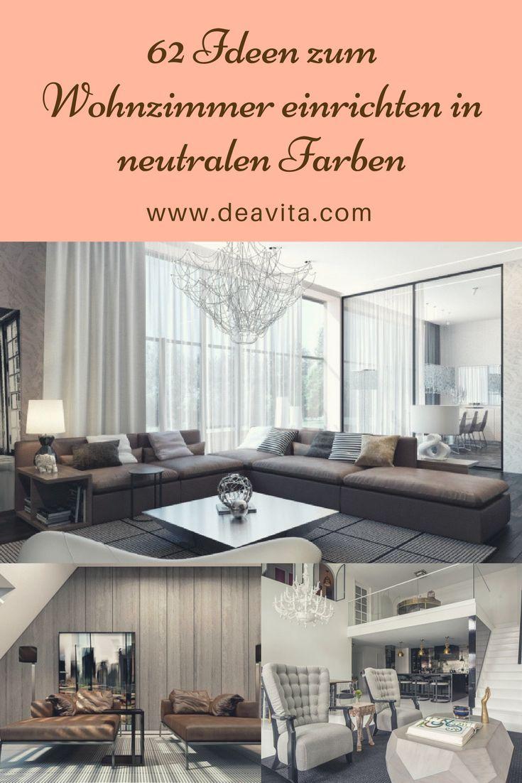 Einrichtungsideen Neutralen Farben Modern | Möbelideen