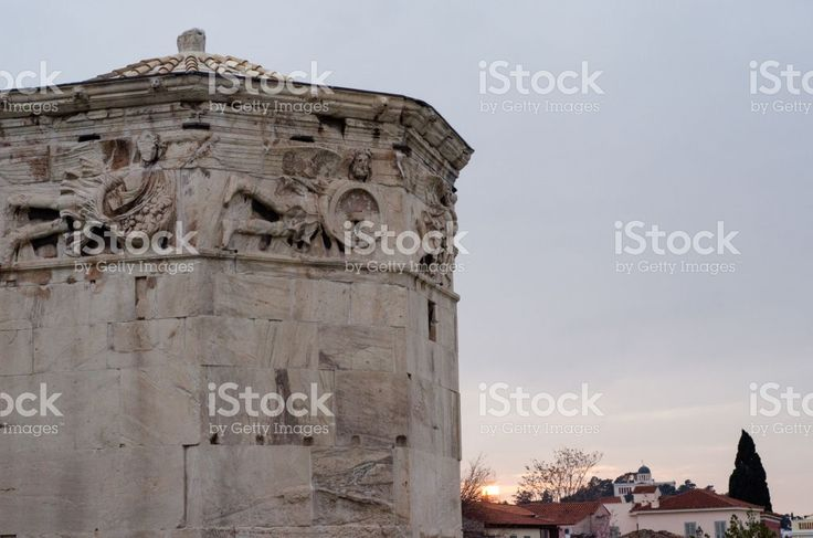The Ancient Agora royalty-free stock photo
