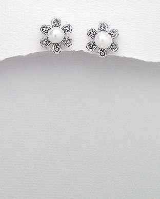 silver vogue - Elegant Pearl studs, $25.00 (http://www.silvervogue.com.au/elegant-pearl-studs/)