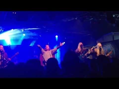 Twilight Force ⚫ Filmed by Henrik Söder ⚫ Borlänge 2016 ⚫ #TwilightForce #music #metal #concert #gig #musician #Chrileon #Lynd #DeAzsh #Born #Blackwald #Aerendir #singer #vocalist #frontman #guitarist #guitar #microphone #ninja #mask #armour #armor #show #bracers #tattoo #beard #hood #elf #tabard #playing #coat #earrings #leather #blond #longhair #festival #photo #fantasy #magic #cosplay #larp #man #onstage #live #celebrity #band #artist #performing #Sweden #Swedish #Borlänge #Liljan